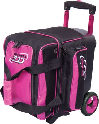 Columbia 300 Bags Icon Single Roller Pink - Columbia 300 Bags Bowling Bags