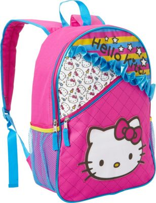 Hello Kitty Fab NY Ruffles Backpack Pink - Hello Kitty Fab NY Everyday Backpacks