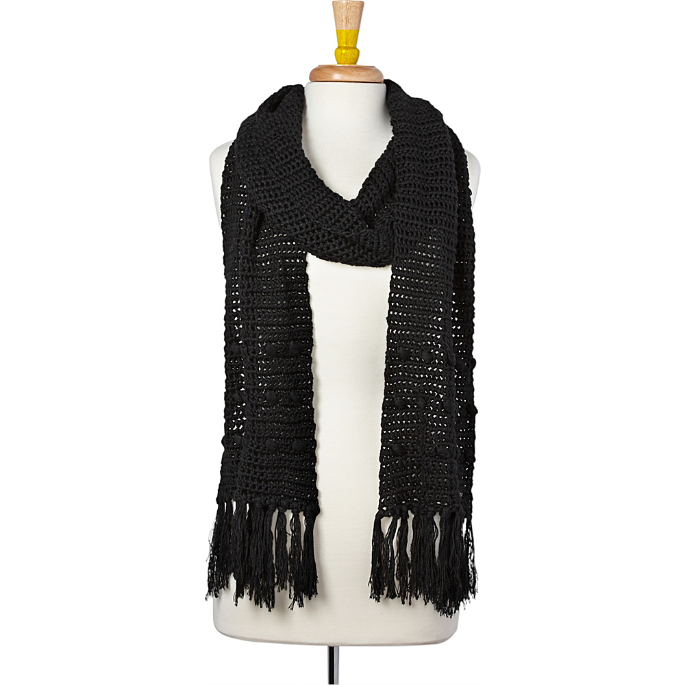 PrAna Pammy Scarf Black - PrAna Hats/Gloves/Scarves - Fashion Accessories, Hats/Gloves/Scarves