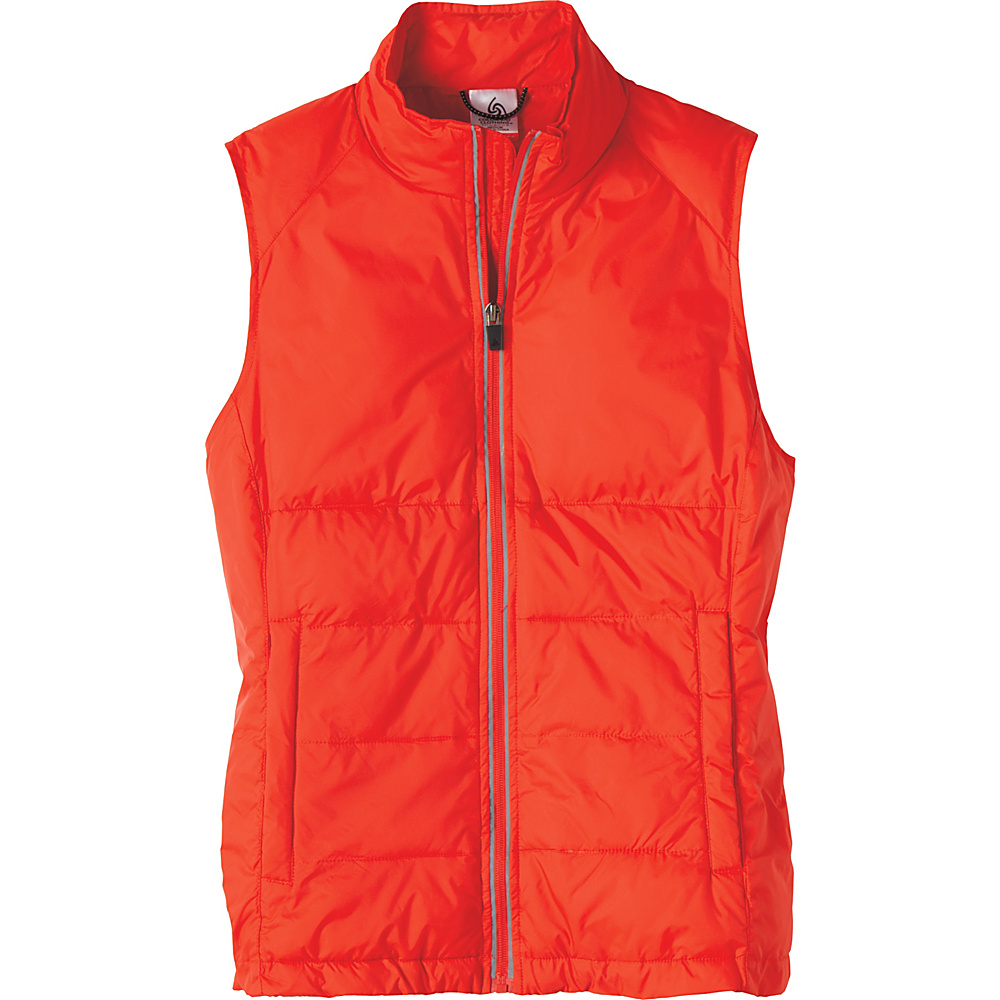 Colorado Clothing Womens Durango Puffer Vest XL - Cherry Tomato - Colorado Clothing Women's Apparel Womens Durango Puffer Vest XL - Cherry Tomato. Lose the bulk with our Packable Series.  Easily stuff the the series' jackets and vests into their own pocket for easy, lightweight travel. The wind and waterproof ripstop material maintains your warmth without the unnecessary weight.