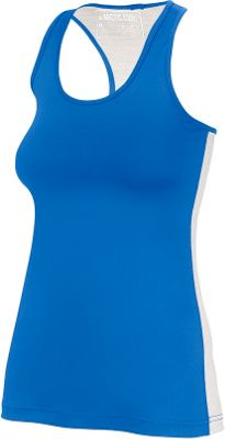 Arctic Cool Womens Instant Cooling Tank with Mesh XL - Polar Blue - Arctic Cool Women's Apparel