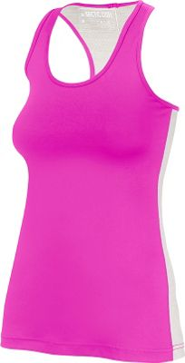 Arctic Cool Womens Instant Cooling Tank with Mesh L - Power Fuchsia - Arctic Cool Women's Apparel