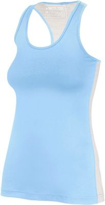 Arctic Cool Womens Instant Cooling Tank with Mesh S - Blizzard Blue - Arctic Cool Women's Apparel