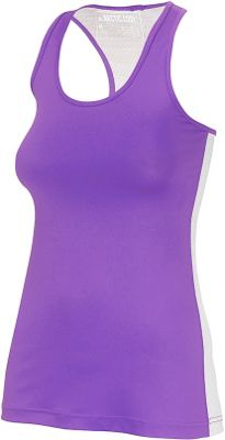 Arctic Cool Womens Instant Cooling Tank with Mesh L - Purple - Arctic Cool Women's Apparel