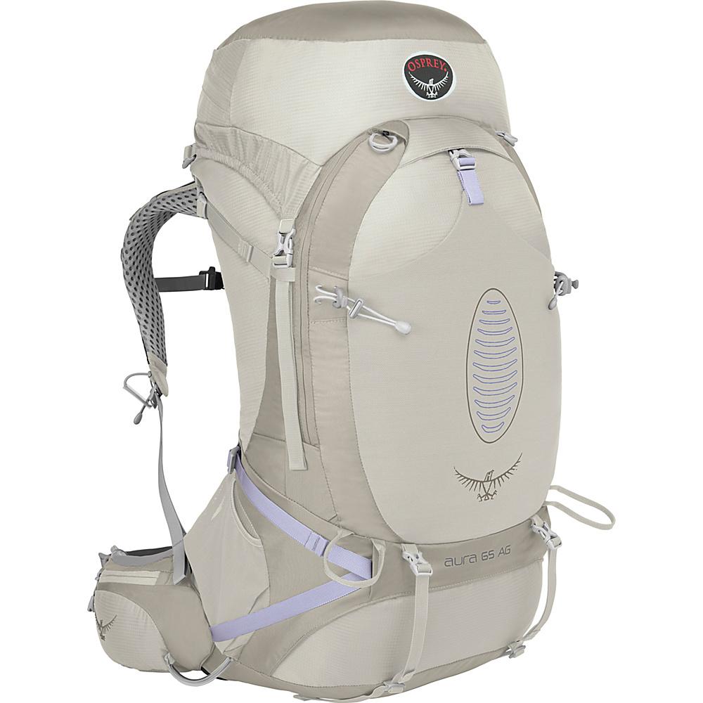 Osprey Aura AG 65 Backpack Silver Streak - MD - Osprey Backpacking Packs - Outdoor, Backpacking Packs