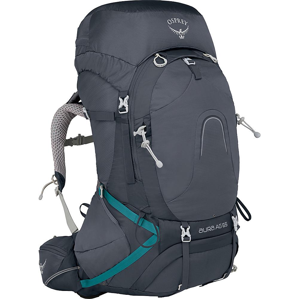 Osprey Aura AG 65 Backpack Vestal Grey – MD - Osprey Backpacking Packs - Outdoor, Backpacking Packs