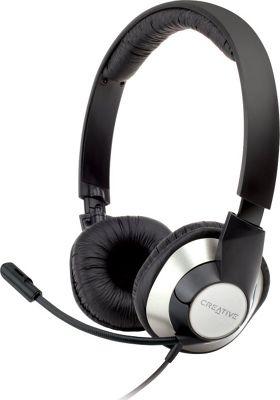 Creative Labs ChatMax HS-720 Headset Black - Creative Labs Headphones & Speakers