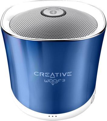 Creative Labs Woof3 Portable Wireless Speaker Blue - Creative Labs Headphones & Speakers