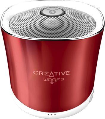 Creative Labs Woof3 Portable Wireless Speaker Red - Creative Labs Headphones & Speakers