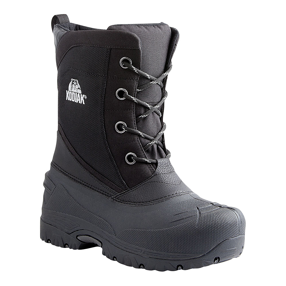 Kodiak Lander Boot 9 - M (Regular/Medium) - Black - Kodiak Mens Footwear - Apparel & Footwear, Men's Footwear