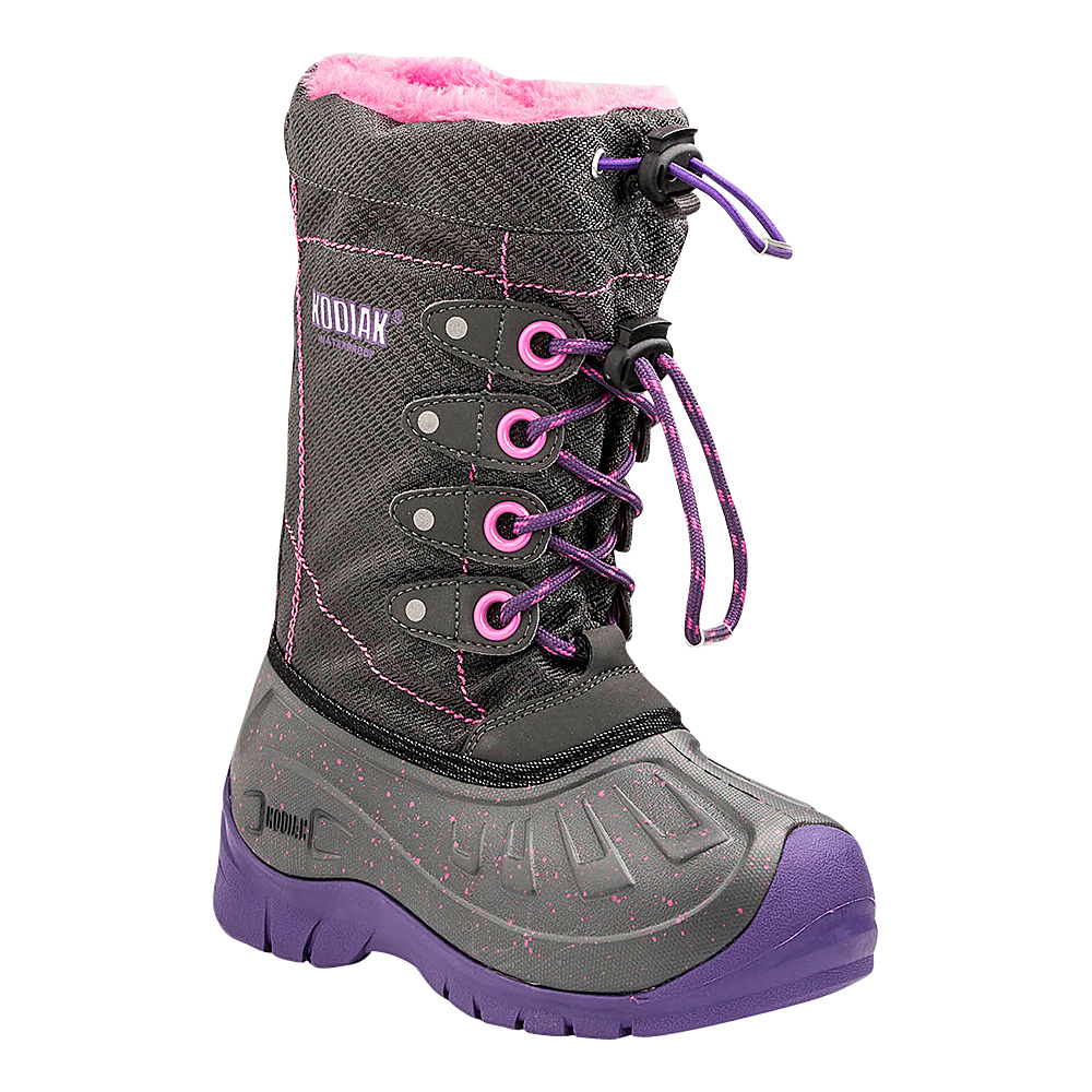 Kodiak Upaco Cali Boot 1 (US Kids) - M (Regular/Medium) - Purple/Grey - Kodiak Womens Footwear - Apparel & Footwear, Women's Footwear