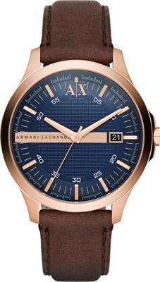 A/X Armani Exchange Hampton Watch Brown - A/X Armani Exch...