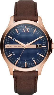 A/X Armani Exchange Hampton Watch Brown - A/X Armani Exchange Watches
