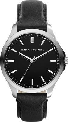 A/X Armani Exchange Hampton LP Watch Black - A/X Armani Exchange Watches