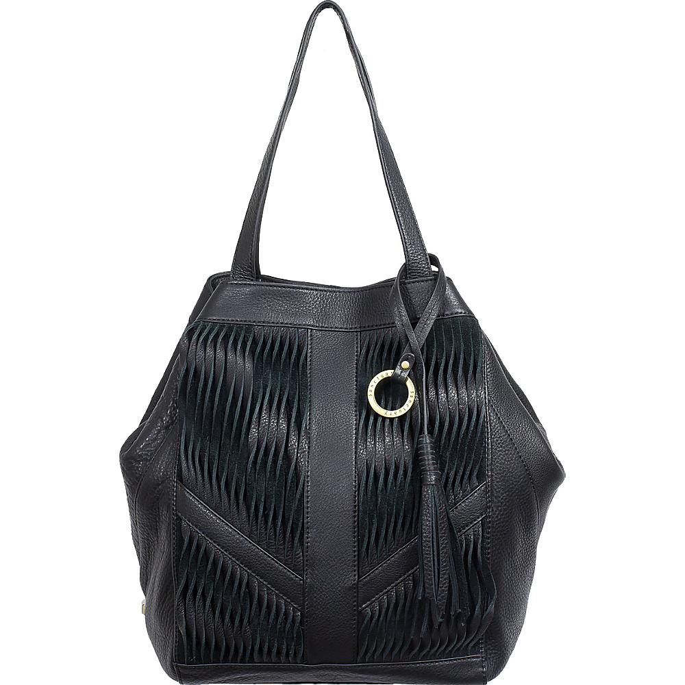 Sanctuary Handbags Modern Twist Tote Black Sanctuary Handbags Designer Handbags