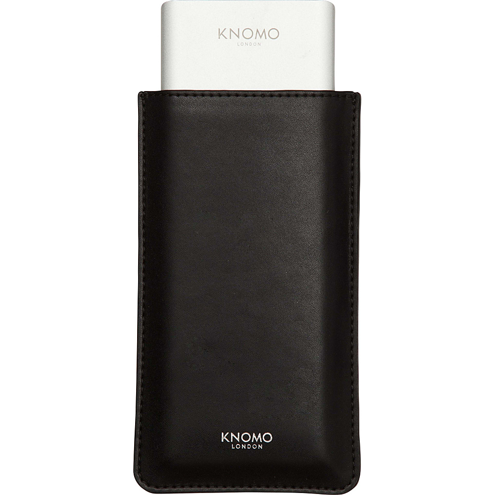 KNOMO London Portable Battery 10 000 mAh Bundle Black KNOMO London Portable Batteries Chargers