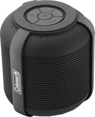 Coleman Mini Rugged Water Resistant Bluetooth Speaker Black - Coleman Headphones & Speakers