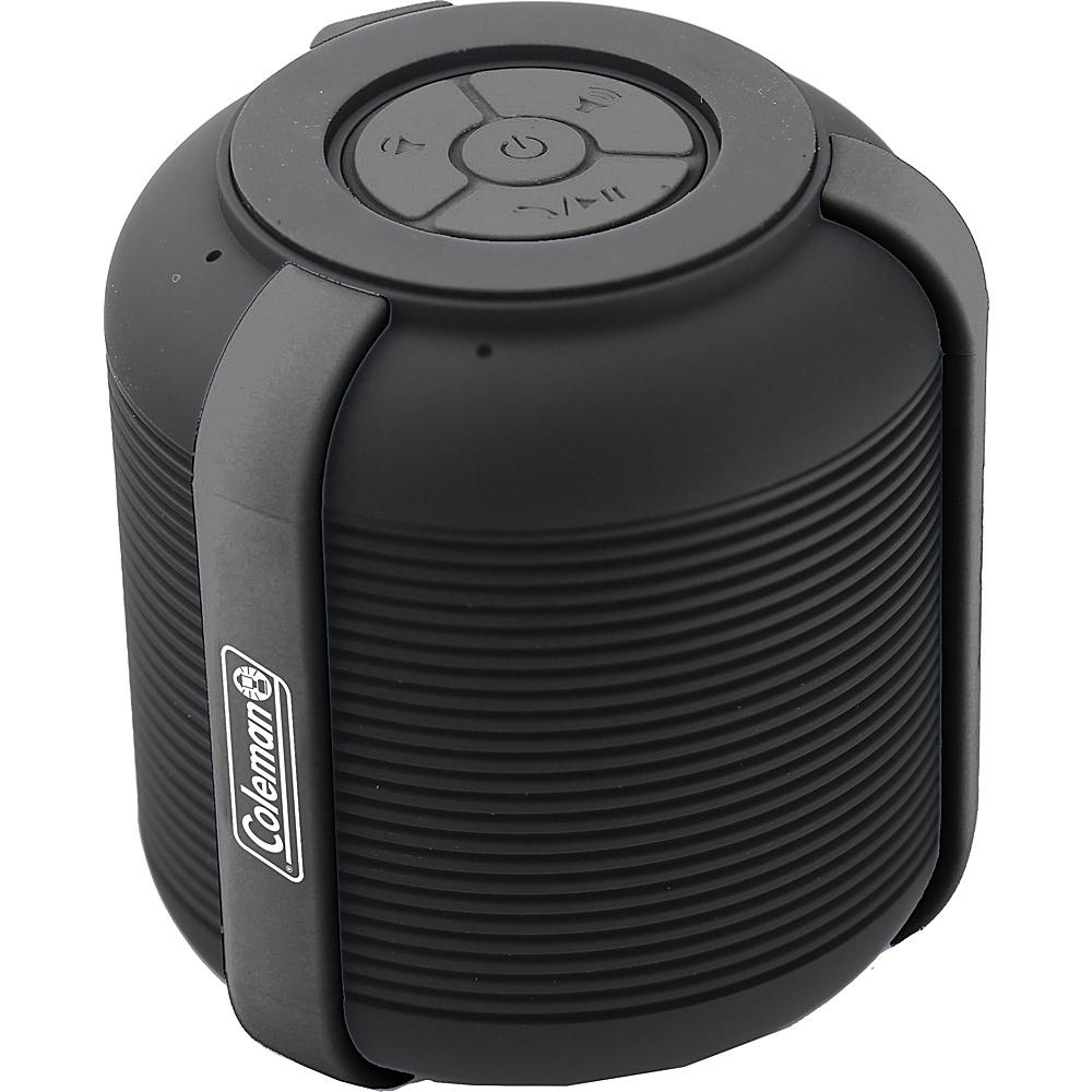 Coleman Mini Rugged Water Resistant Bluetooth Speaker Black Coleman Headphones Speakers