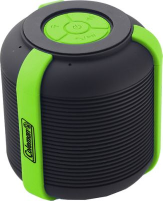 Coleman Mini Rugged Water Resistant Bluetooth Speaker Green - Coleman Headphones & Speakers
