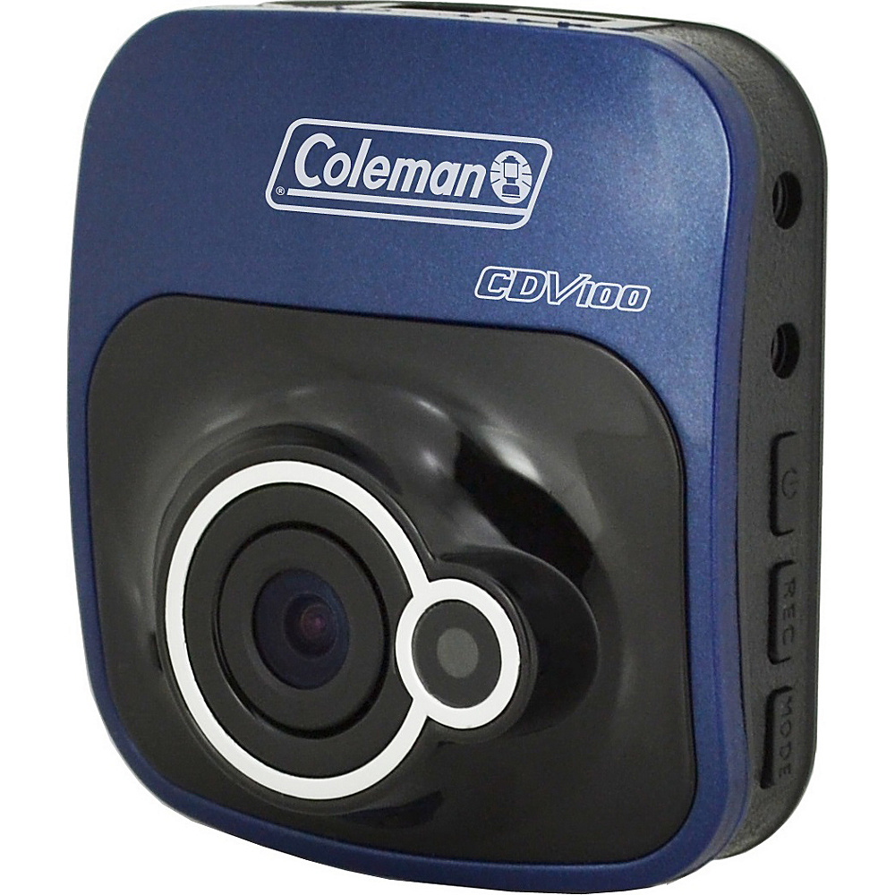Coleman TourHD 1080p HD Camcorder 12.0MP Digital Car Dashboard Camera Blue Coleman Cameras