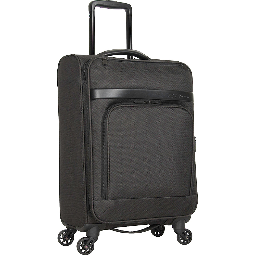 Ben Sherman Luggage York Collection 20 Carry On Luggage Dark Forest Herringbone Ben Sherman Luggage Softside Carry On