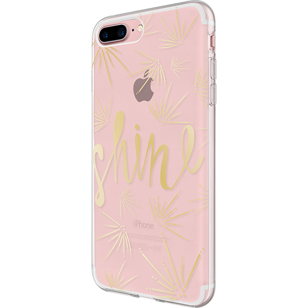 Incipio Design Series for iPhone 7 Plus Clear Gold(SHN) - Incipio Electronic Cases - Technology, Electronic Cases
