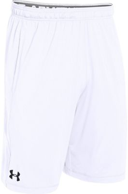 Under Armour Mens Raid Short L - White/White/Graphite - Under Armour Men's Apparel