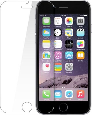 Rhino Tempered Glass Screen Protector for Apple iPhone 6/6S Plus Clear - iPhone 6/6s Plus - Rhino Electronic Cases