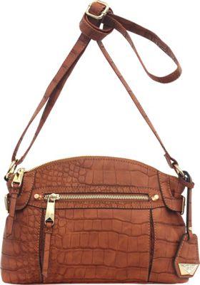 Jessica Simpson Viola Crossbody Pumpkin Spice - Jessica Simpson Leather Handbags