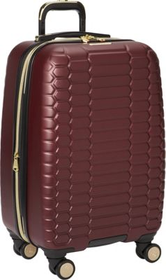 Aimee Kestenberg Boa Collection 20 inch Hardside 8-Wheel Carry-On Raspberry - Aimee Kestenberg Hardside Carry-On