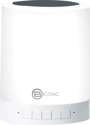 B iconic Lantern Wireless Speaker White - B iconic Headphones & Speakers