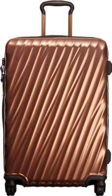 Tumi 19 Degree Short Trip Packing Case Copper - Tumi Hardside Checked