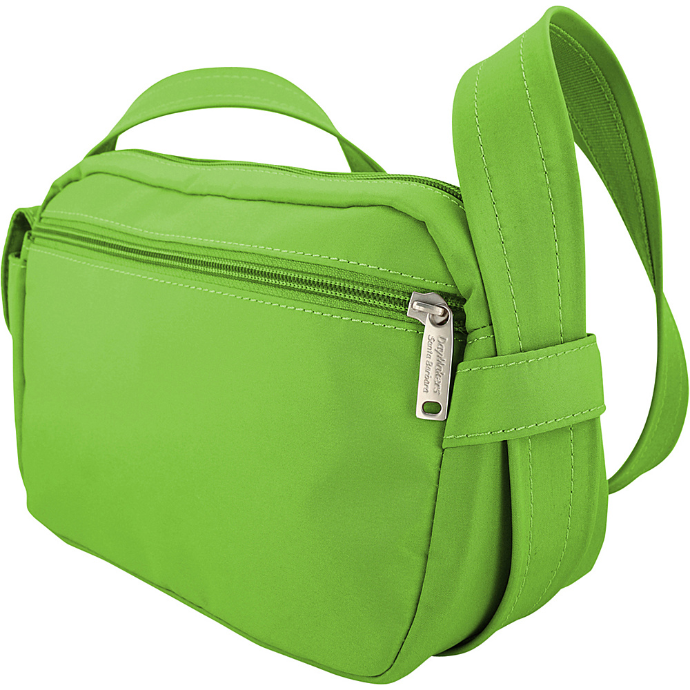 BeSafe by DayMakers Anti Theft 3 Way Convertible Roamer Waist Pack Bright Green BeSafe by DayMakers Fabric Handbags