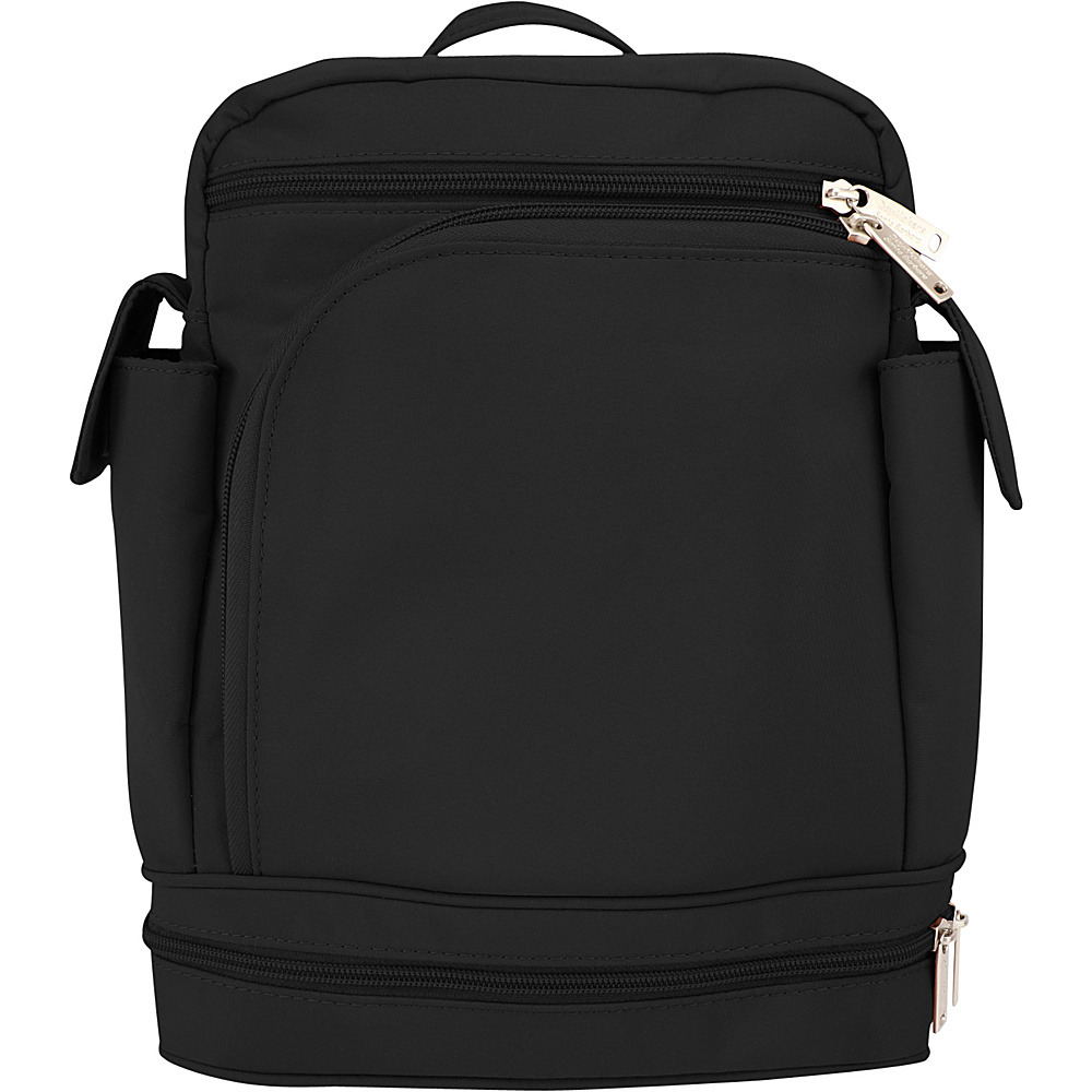 BeSafe by DayMakers Anti Theft Convertible Backpack Black BeSafe by DayMakers Fabric Handbags