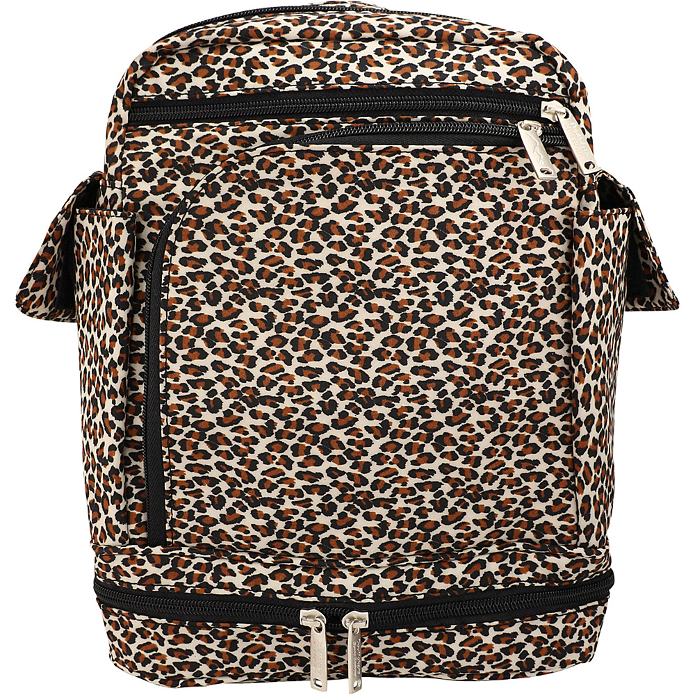 BeSafe by DayMakers Anti Theft Convertible Backpack Leopard BeSafe by DayMakers Fabric Handbags