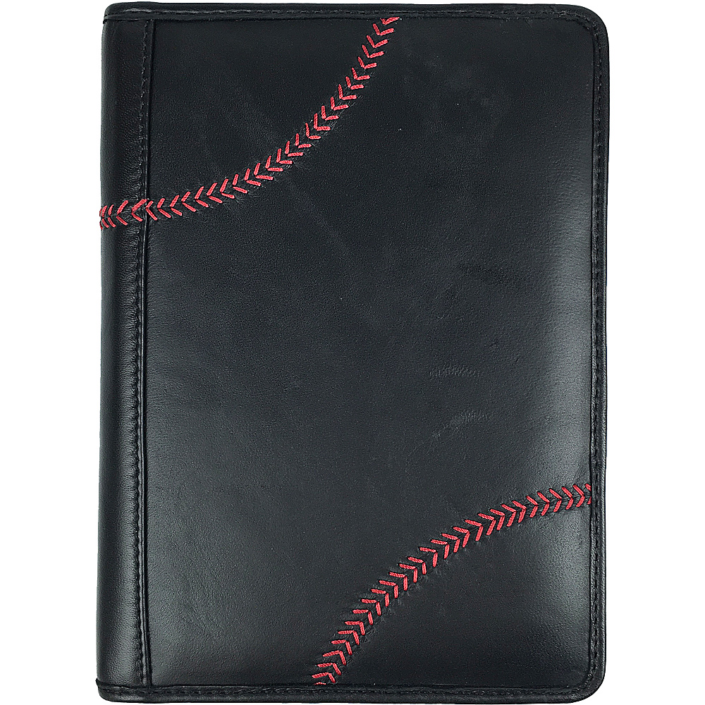 Rawlings Baseball Stitch Mini Padfolio Tablet Case Black Rawlings Business Accessories