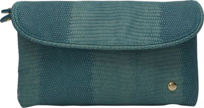 Stephanie Johnson Galapagos Katie Folding Cosmetic Bag Teal - Stephanie Johnson Women's SLG Other
