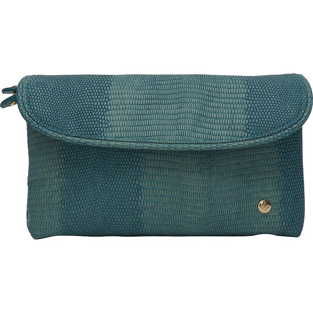 Stephanie Johnson Galapagos Katie Folding Cosmetic Bag Teal Stephanie Johnson Women s SLG Other