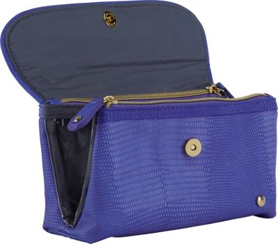 Stephanie Johnson Galapagos Katie Folding Cosmetic Bag Deep Purple - Stephanie Johnson Women's SLG Other