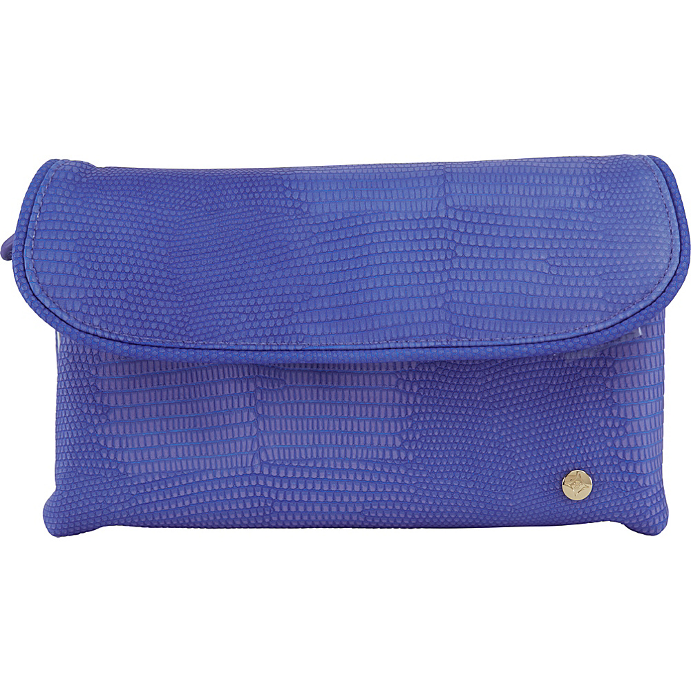 Stephanie Johnson Galapagos Katie Folding Cosmetic Bag Deep Purple Stephanie Johnson Women s SLG Other