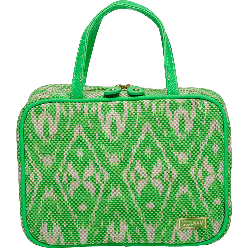 Stephanie Johnson Tamarindo ML Traveler Cosmetic Case Green Stephanie Johnson Women s SLG Other