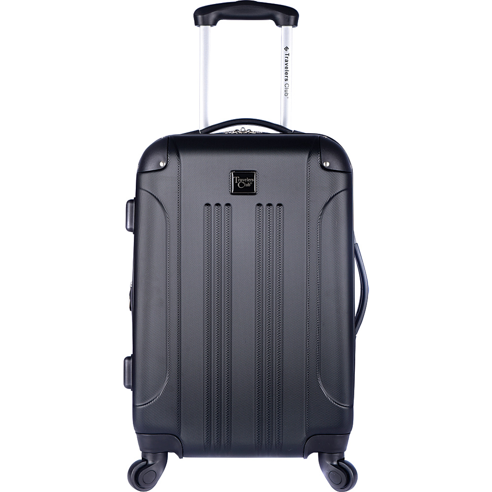 eBay. Travelers Club Luggage Charlotte 20 & #034 Expandable Hardside   Carry  on  $29.99 FS online deal