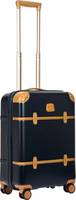 BRIC'S Bellagio 2.0 21 inch Carry-On Spinner Trunk Blue - BRIC'S Hardside Carry-On
