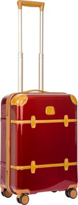 BRIC'S Bellagio 2.0 21 inch Carry-On Spinner Trunk Shiny Red - BRIC'S Hardside Carry-On