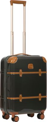 BRIC'S Bellagio 2.0 21 inch Carry-On Spinner Trunk Shiny Dark Grey - BRIC'S Hardside Carry-On