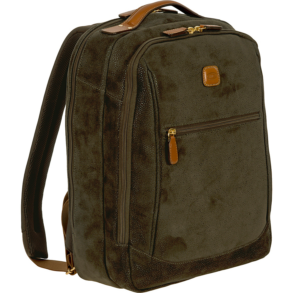 BRIC S Life Director Backpack Medium Olive BRIC S Business Laptop Backpacks