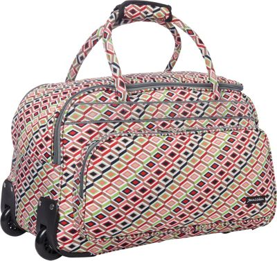 Jenni Chan Tiles Carry All Duffel Multi - Jenni Chan Rolling Duffels
