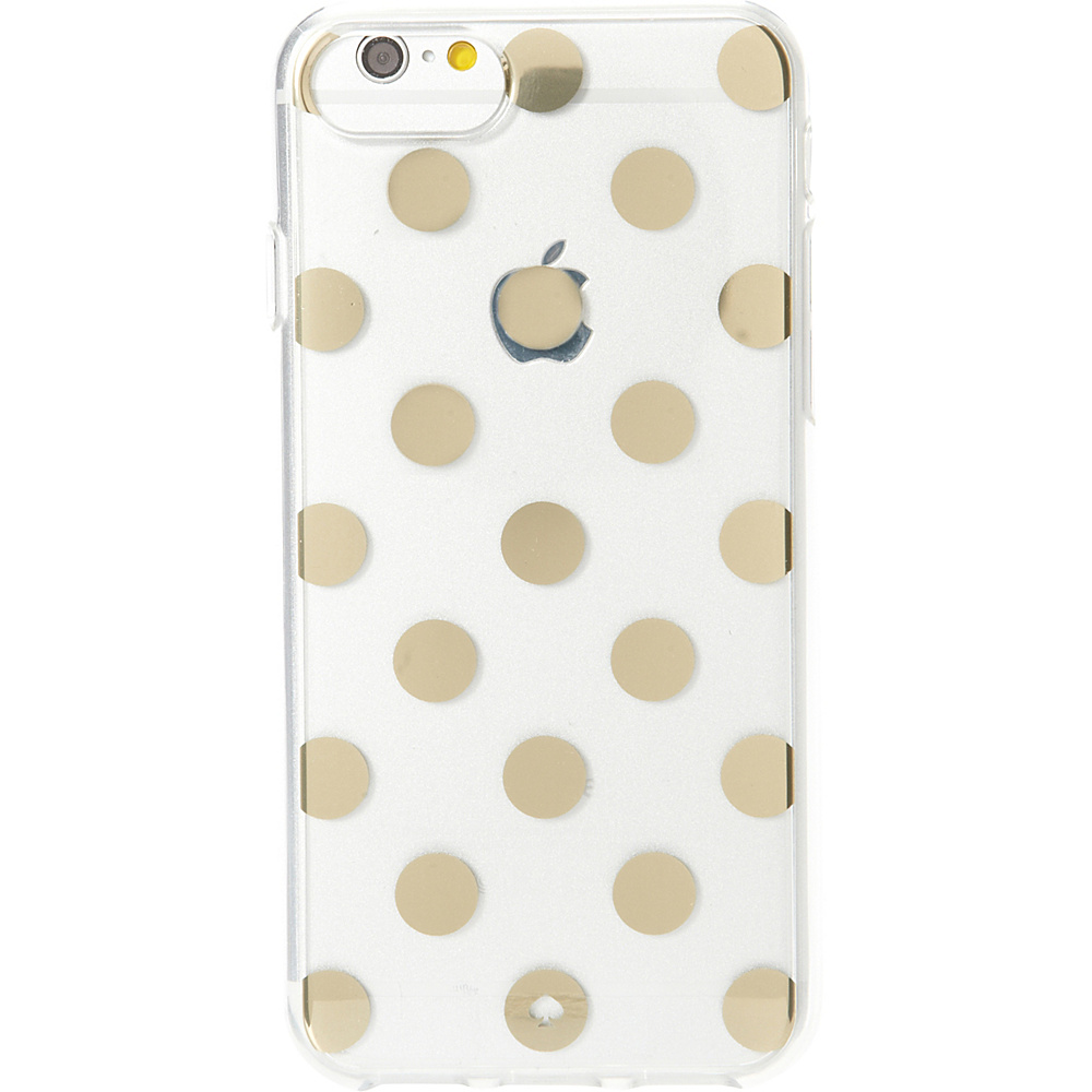 kate spade new york Le Pavillion Clear iPhone 7 Case Clear Gold kate spade new york Electronic Cases