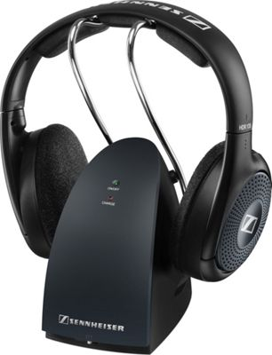 Sennheiser RS135 Wireless RF Headphone System Black - Sennheiser Headphones & Speakers