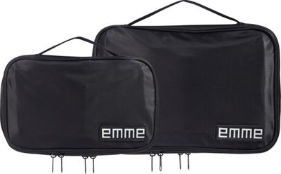 EMME Combination Cosmetic and Toiletries Travel Bags Black - EMME Toiletry Kits